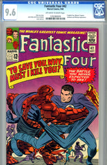 Fantastic Four #042   CGC graded 9.6