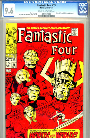 Fantastic Four #075   CGC graded 9.6 - SOLD!