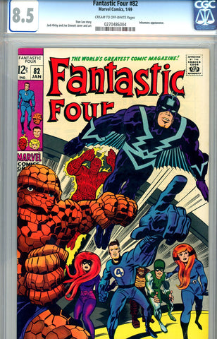 Fantastic Four #082  CGC graded 8.5 - SOLD!