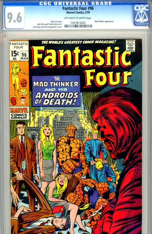 Fantastic Four #096   CGC graded 9.6  SOLD!