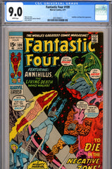 Fantastic Four #109 CGC graded 9.0 white pages