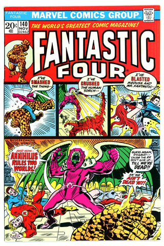 Fantastic Four #140   VERY FINE   1973