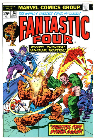 Fantastic Four #148   VERY FINE   1974