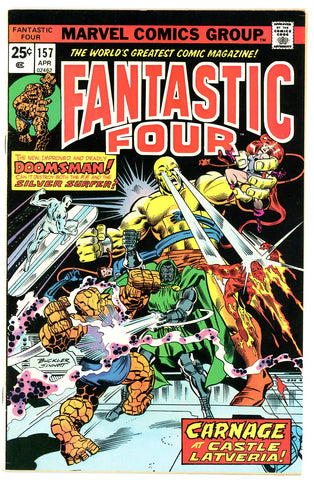 Fantastic Four #157   VERY FINE   1975