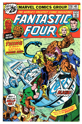 Fantastic Four #170   VERY FINE+   1976