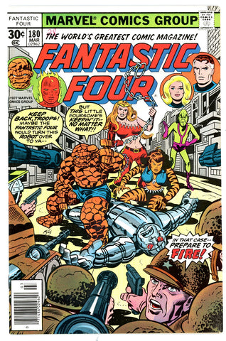 Fantastic Four #180   VF/NEAR MINT   1977