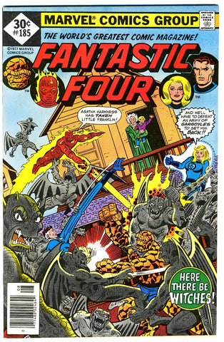 Fantastic Four #185   VERY FINE+   1977