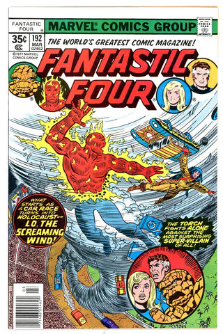 Fantastic Four #192 NEAR MINT-  1978