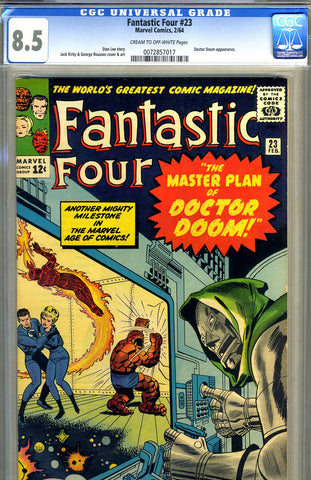 Fantastic Four #023   CGC graded 8.5 - SOLD!