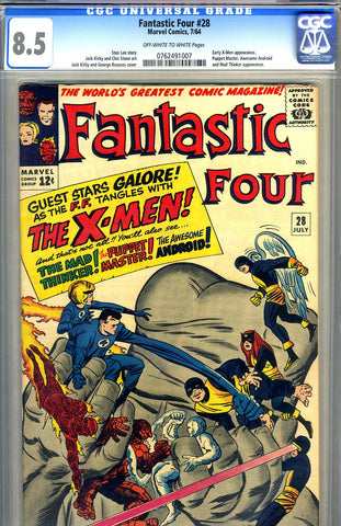 Fantastic Four #28   CGC graded 8.5 - SOLD