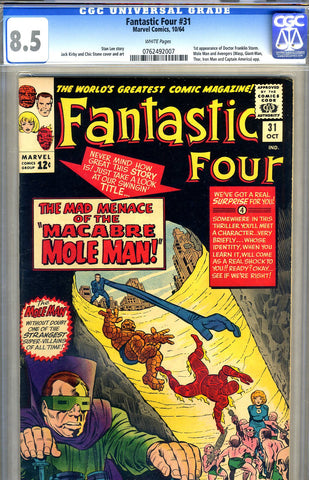 Fantastic Four #31   CGC graded 8.5 - SOLD