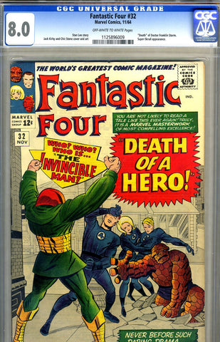 Fantastic Four #32   CGC graded 8.0 - SOLD