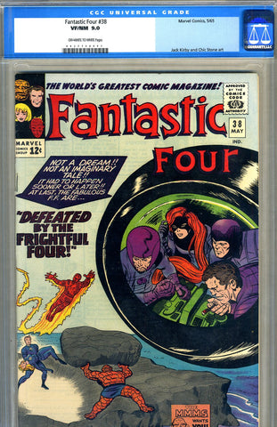 Fantastic Four #38   CGC graded 9.0 - SOLD!