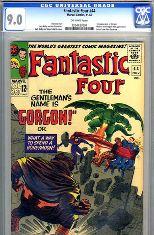 Fantastic Four #44   CGC graded 9.0 - SOLD!