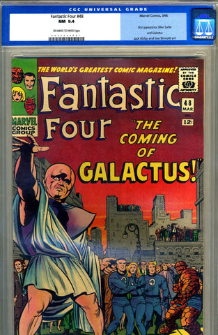 Fantastic Four #48   CGC graded 9.4 - SOLD