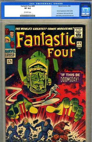 Fantastic Four #49   CGC graded 8.0 - SOLD