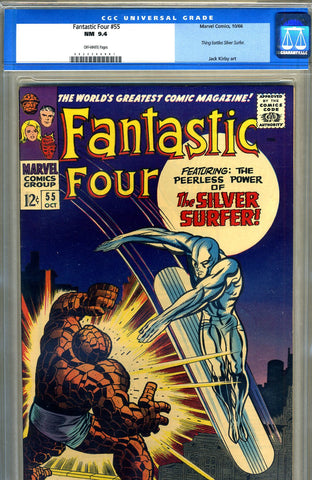 Fantastic Four #55   CGC graded 9.4 - SOLD