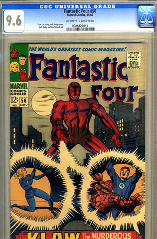 Fantastic Four #056   CGC graded 9.6 - SOLD!