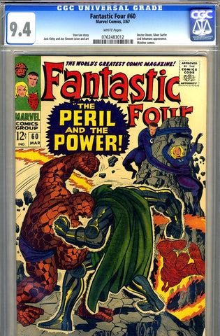 Fantastic Four #60   CGC graded 9.4 - SOLD