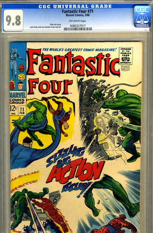 Fantastic Four #071   CGC graded 9.8 - HIGHEST GRADED - SOLD!