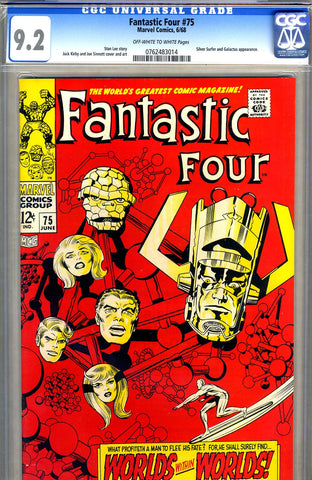 Fantastic Four #75  CGC graded 9.2 - SOLD
