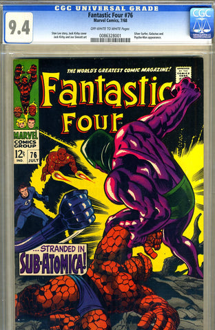 Fantastic Four #076  CGC graded 9.4 - SOLD!
