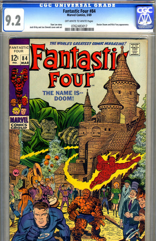 Fantastic Four #84  CGC graded 9.2 - SOLD