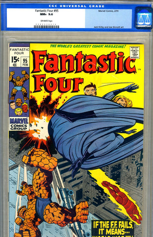 Fantastic Four #95   CGC graded 9.6 - SOLD