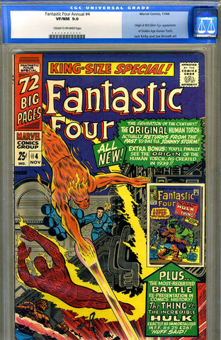 Fantastic Four Annual #4  CGC graded 9.0 - SOLD