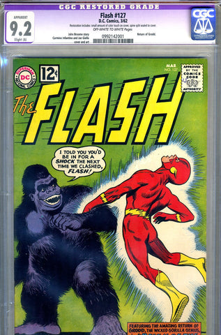 Flash #127   CGC graded 9.2 SOLD!
