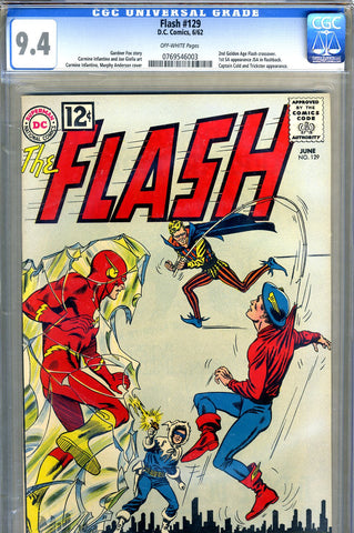 Flash #129   CGC graded 9.4 - SOLD