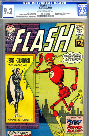 Flash #133   CGC graded 9.2 - SOLD
