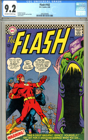 Flash #162 CGC graded 9.2 SOLD!