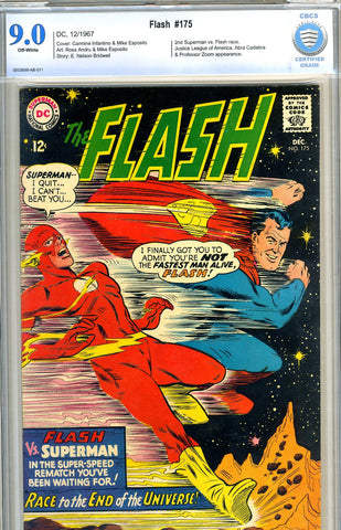 Flash #175   CBCS graded 9.0 - SOLD