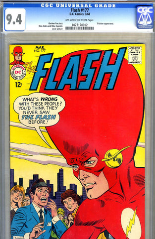 Flash #177   CGC graded 9.4 - SOLD