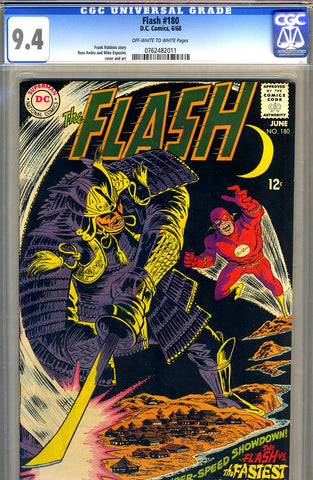Flash #180   CGC graded 9.4 - SOLD