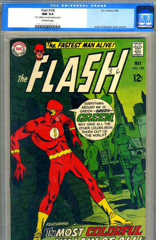Flash #188   CGC graded 9.4 - SOLD