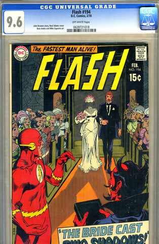 Flash #194   CGC graded 9.6 - SOLD!