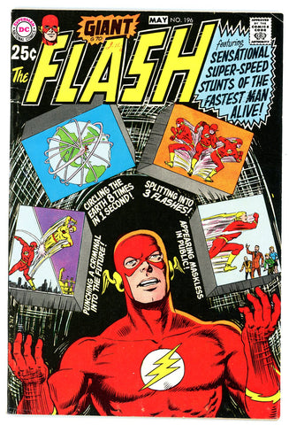 Flash #196   F/VERY FINE   1970 - Giant
