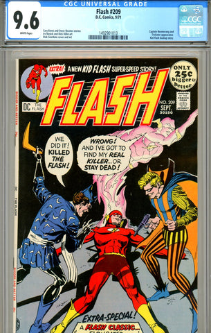 Flash #209 CGC graded 9.6 white pages SOLD!