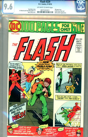 Flash #229  CGC graded 9.6 SOLD!
