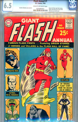 Flash Annual #1  CGC graded 6.5 - SOLD!