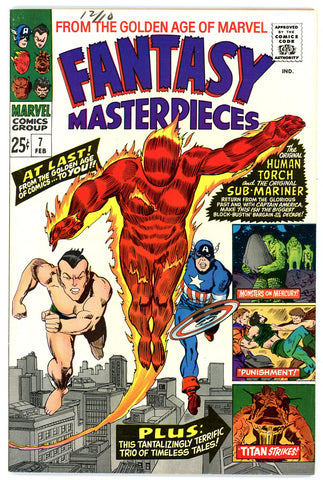 Fantasy Masterpieces  #07  NEAR MINT-   1966