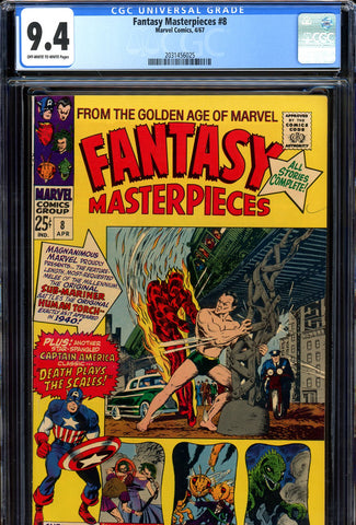Fantasy Masterpieces #08 CGC graded 9.4