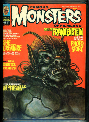 Famous Monsters of Filmland #087 CGC graded 6.5 - SOLD!