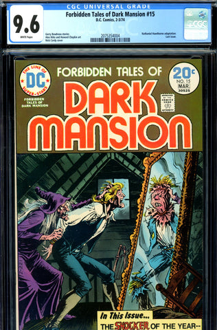 Forbidden Tales of Dark Mansion #15 CGC graded 9.6