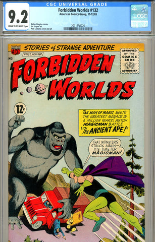 Forbidden Worlds #132 CGC graded 9.2 - SOLD!