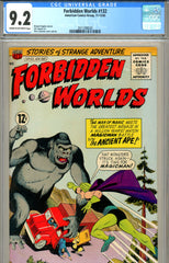 Forbidden Worlds #132 CGC graded 9.2