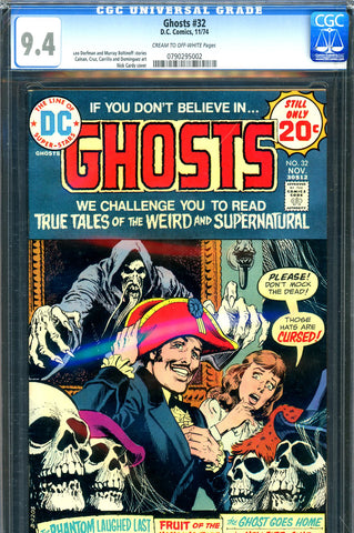 Ghosts #32 CGC graded 9.4 - Nick Cardy cover
