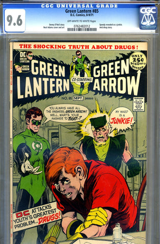 Green Lantern #85   CGC graded 9.6 - SOLD